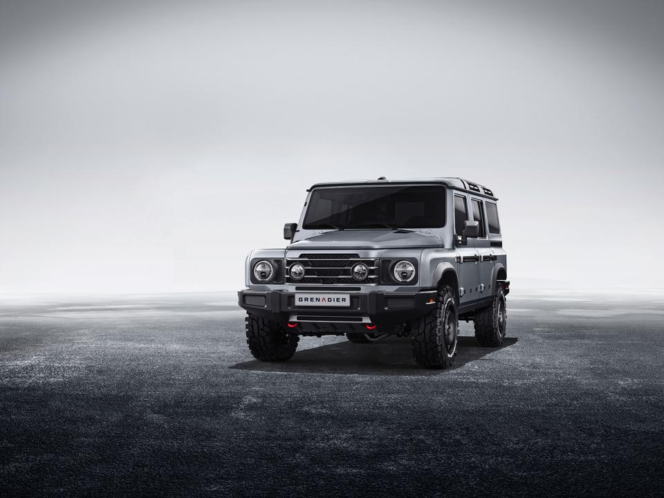 The Ineos Grenadier, inspired by the Defender.