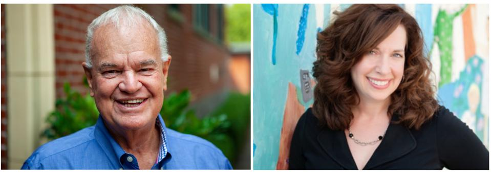 headshots of Duncan Campbell and Terri Sorensen