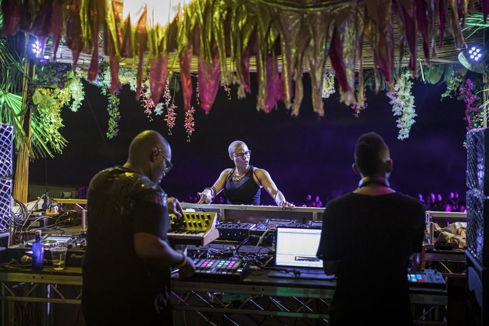 Inner City performing at Kala Festival.
