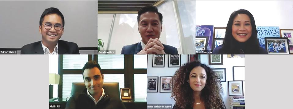 Forbes Asia Next Frontiers Webinar
