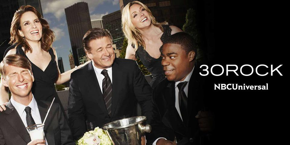 NBC used the cast of sitcom ″30 Rock″ to promote what programming lies ahead across its broadcasting platforms. But no one knows for sure what will happen next season.