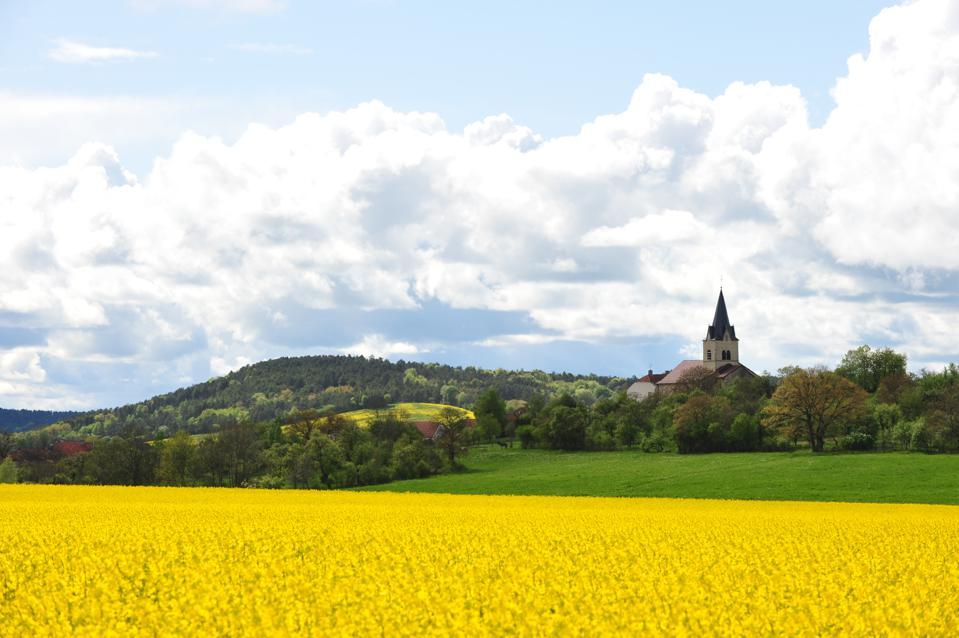 A landscape in Haute-Marne, France.