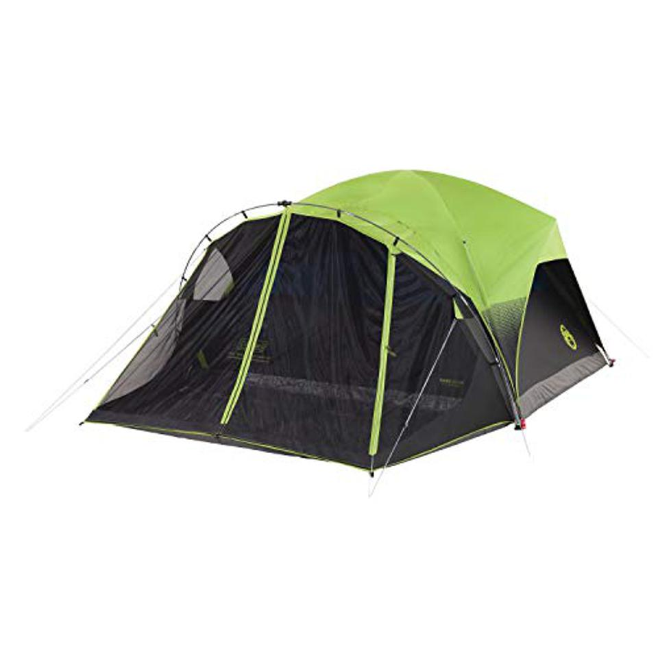 A large tent for family camping.