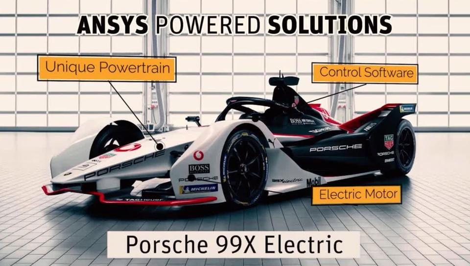 The 99X Electric's powertrain is the basis for the Porsche Taycan, a production EV.