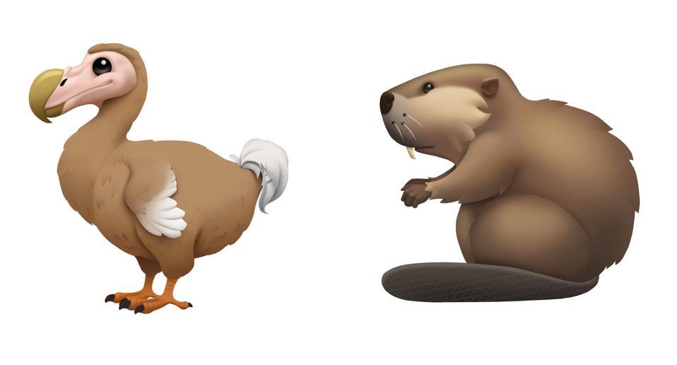 Dodo and Beaver emoji