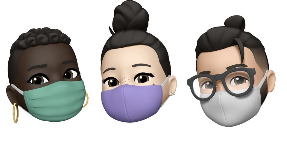 The brilliant face-covering Memoji