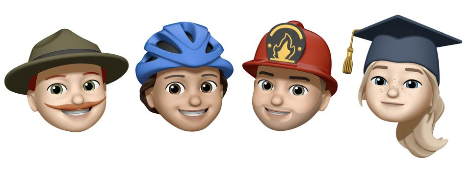Hat Memoji for many occasions