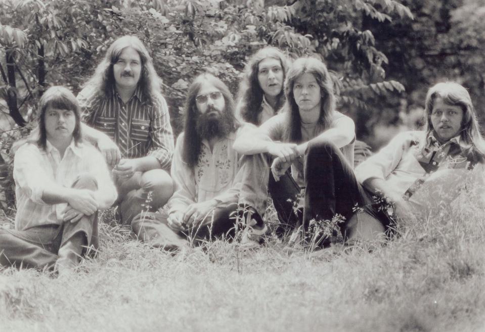 Original members of The Marshall Tucker Band.