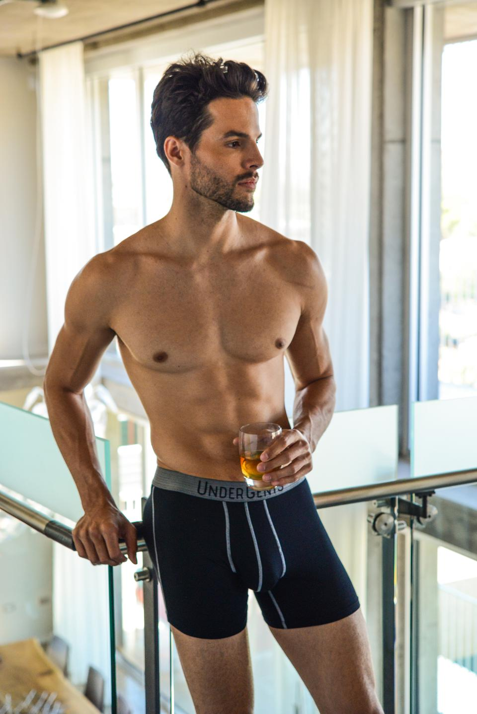UnderGents Inspirato Boxer Brief - A must have for all day comfort without compression.