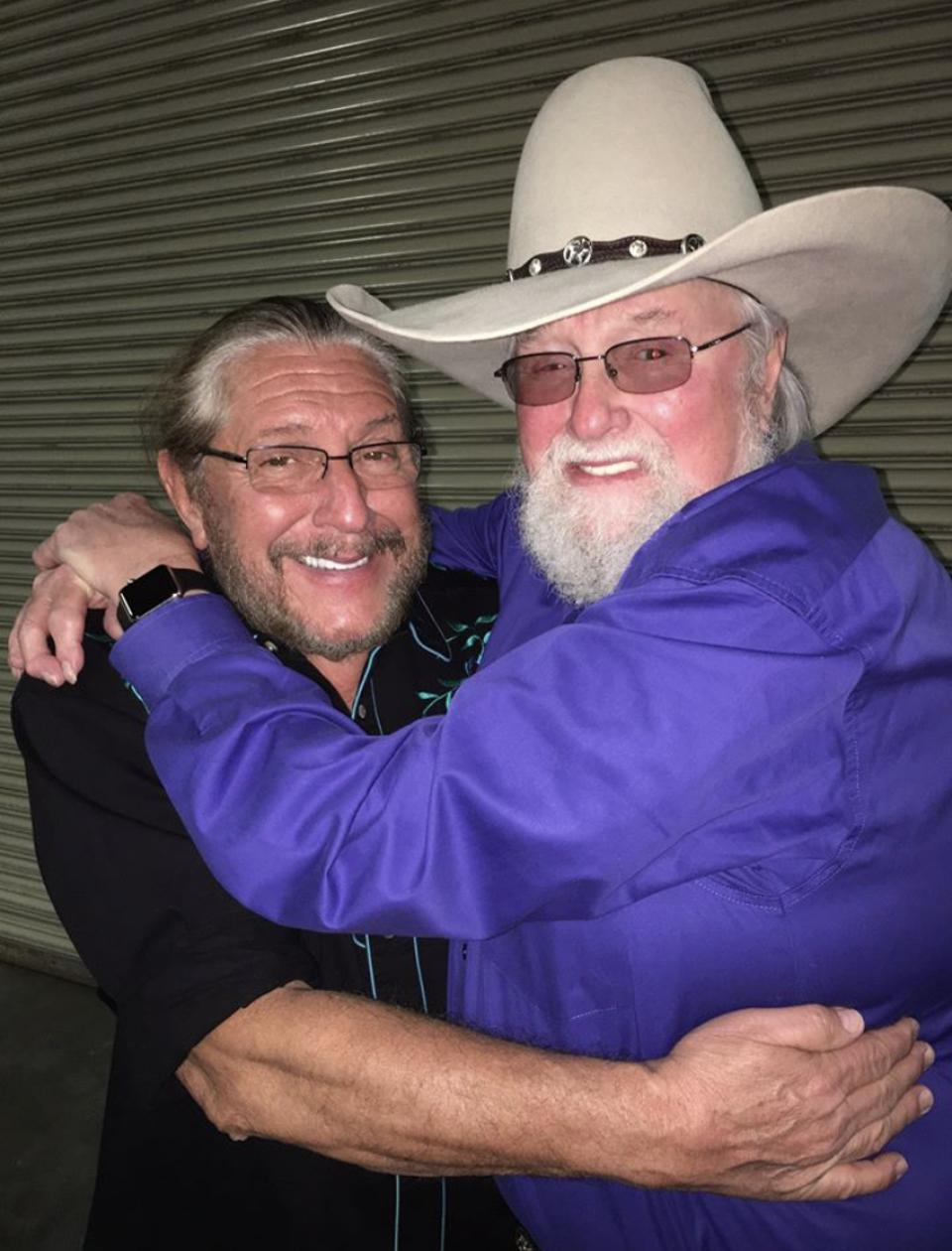 Doug Gray and Charlie Daniels