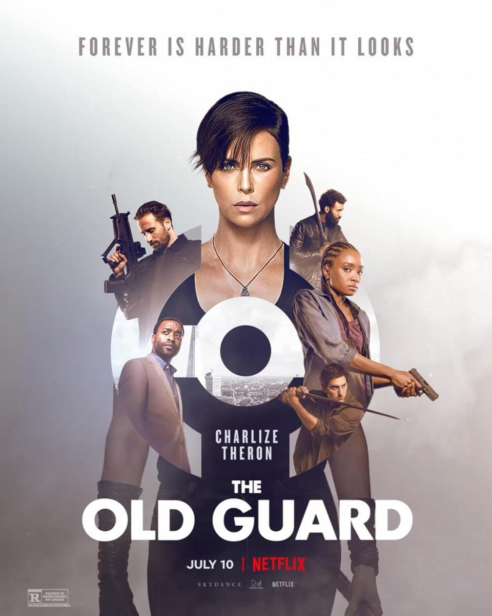 Official poster for Netflix's ″The Old Guard″