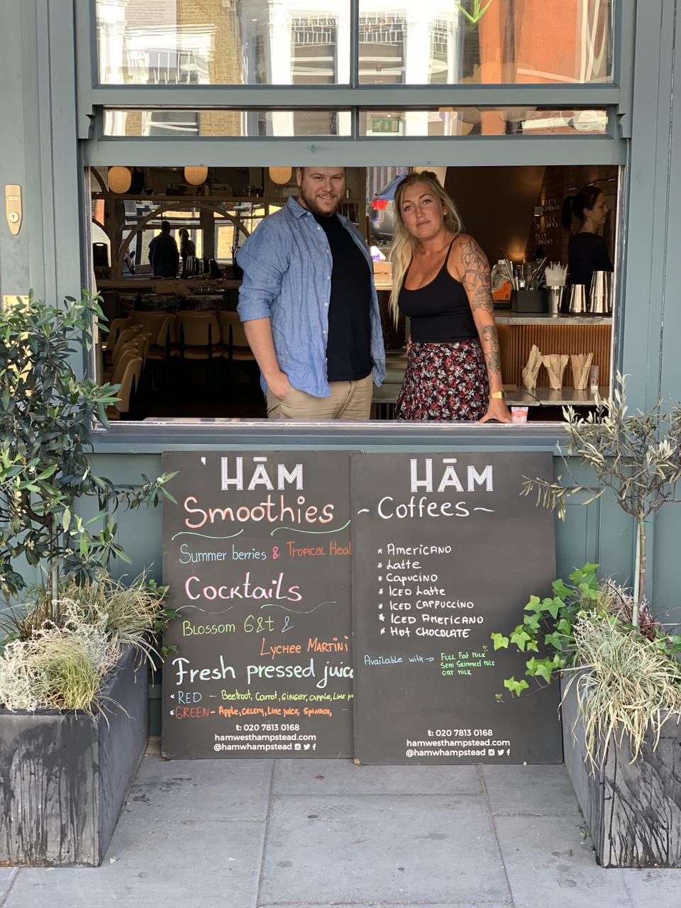 Ham takeout in West Hampstead