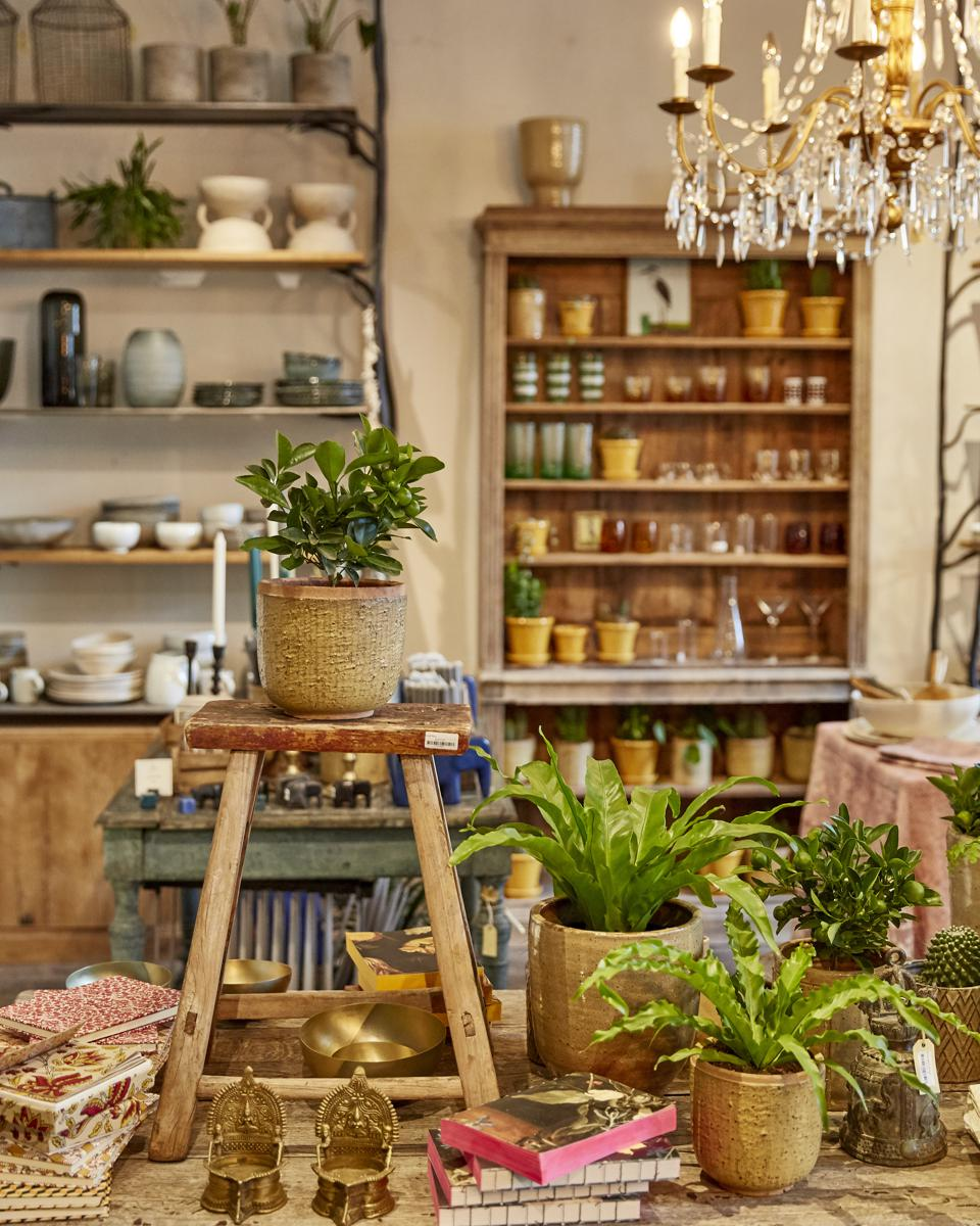 The Petersham Nurseries Shop in Covent Garden