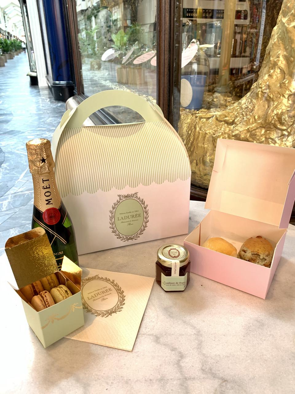 Tea for Two At Burlington Arcade in partnership with La Duree and Moet et Chandon