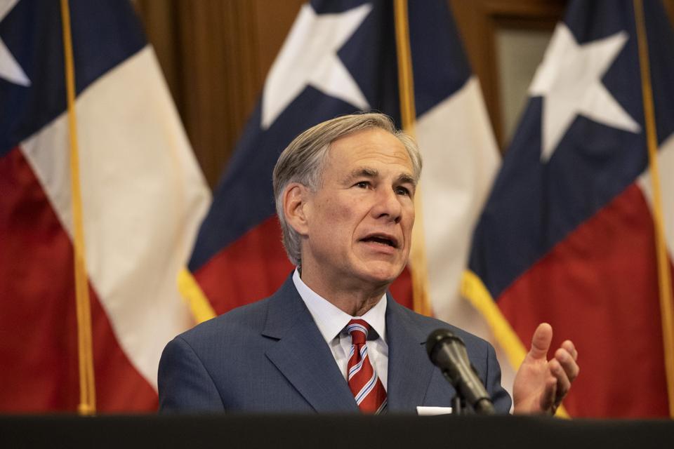 Abbott annuncia la riapertura di più aziende del Texas, il coronavirus Covid-19
