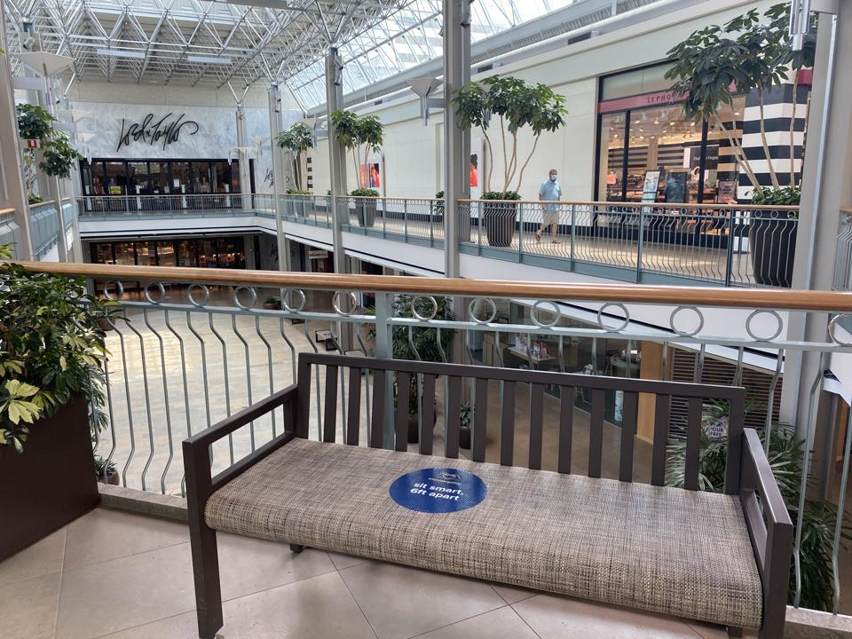 Columbia Maryland Mall COVID-19