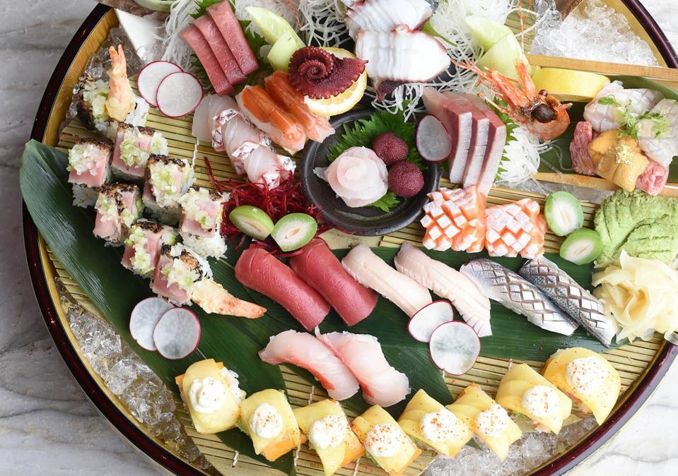 Four Seasons Hotel Baltimore Azumi Sushi Japanese Atlas Restaurant Group