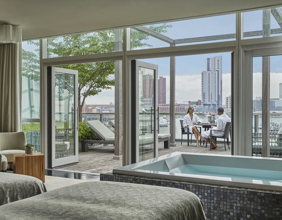 Spa VIP Suite Four SeasonsHotelBaltimore