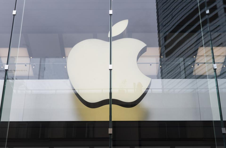 American multinational technology company Apple store and...