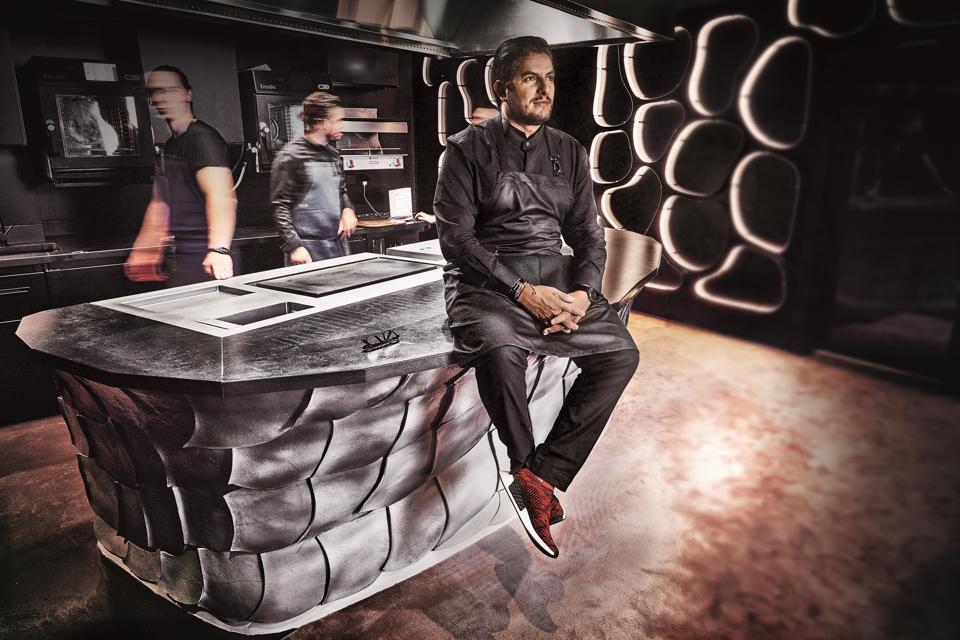 French chef Akrame Benallal