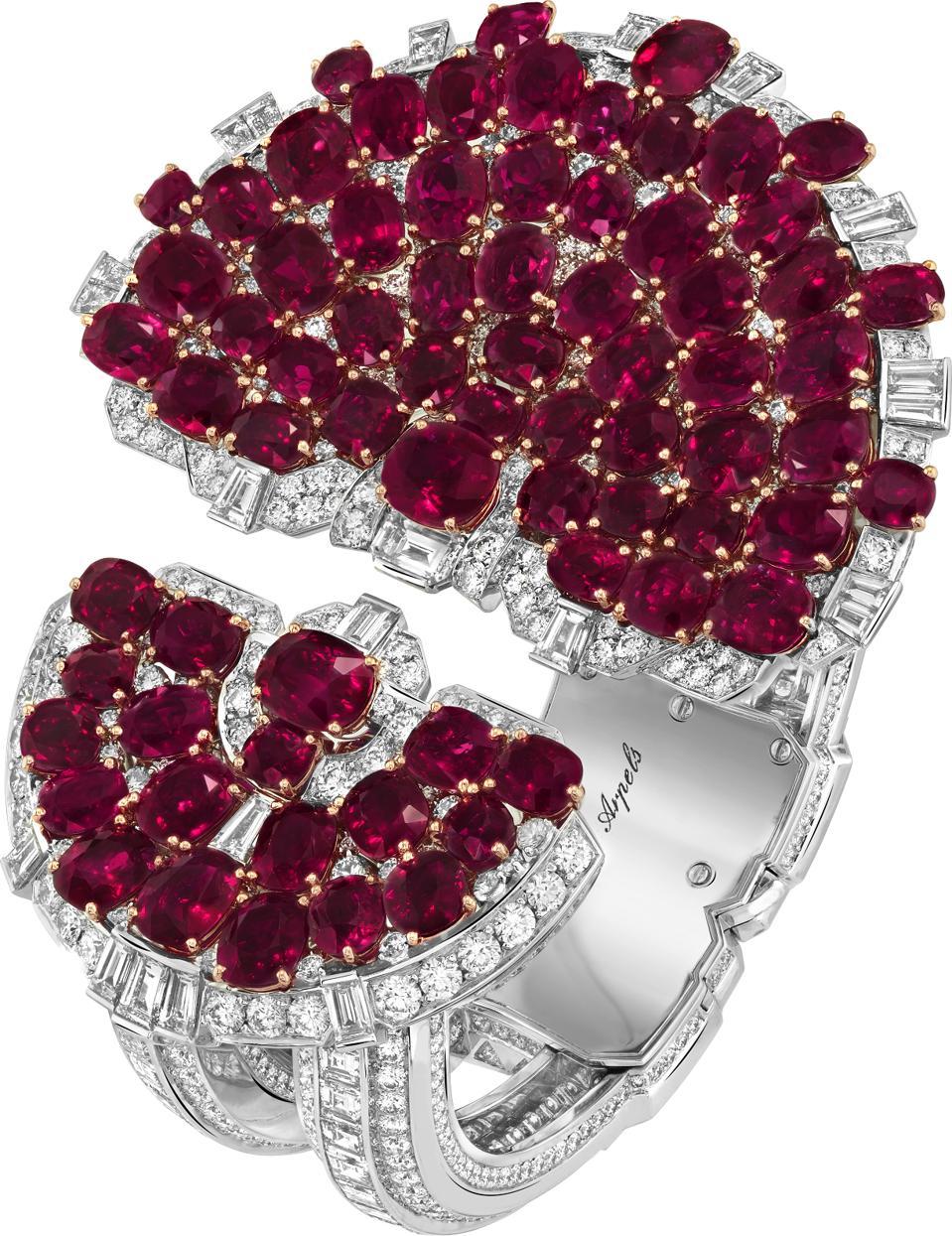 The Rubis en scène ruby and diamond bracelet by Van Cleef & Arpels