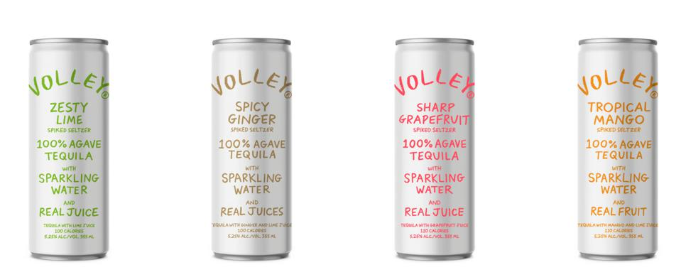 Volley Tequila Seltzer