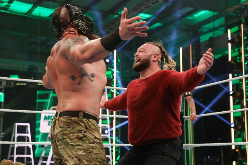Braun Strowman and Bray Wyatt took their feud to the next level with a Swamp Fight in the Horror Strow at Extreme Rules.