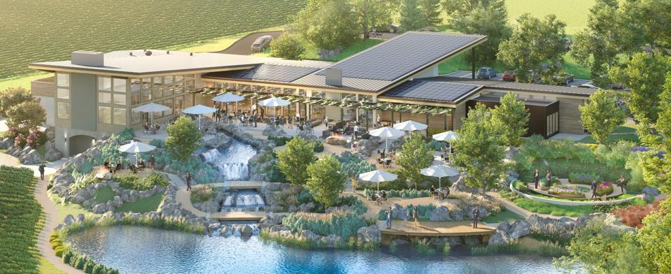 Proposed Bernau Estate Visitor Center