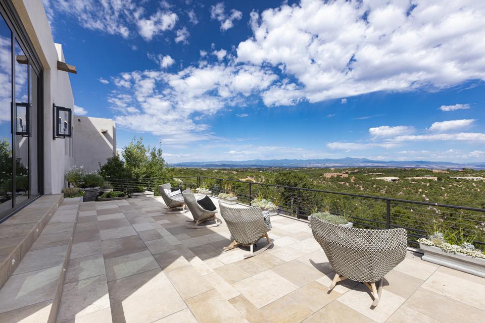 Panoramic views of Santa Fe