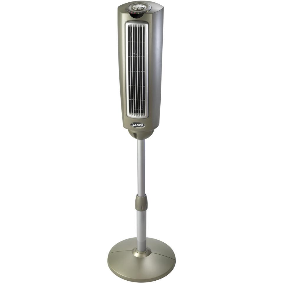 Lasko 52″ 3-Speed Oscillating Adjustable Height Pedestal Tower Fan