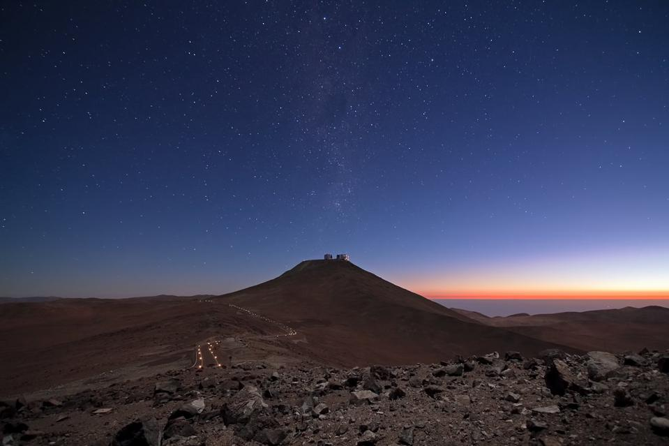 ESO's Paranal Observatory, home to the Very Large Telescope (VLT).