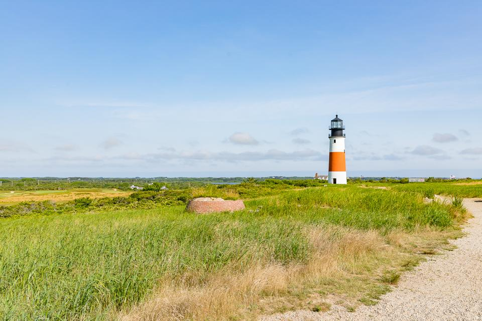Nantucket, MA - View of Sankaty Lighthouse