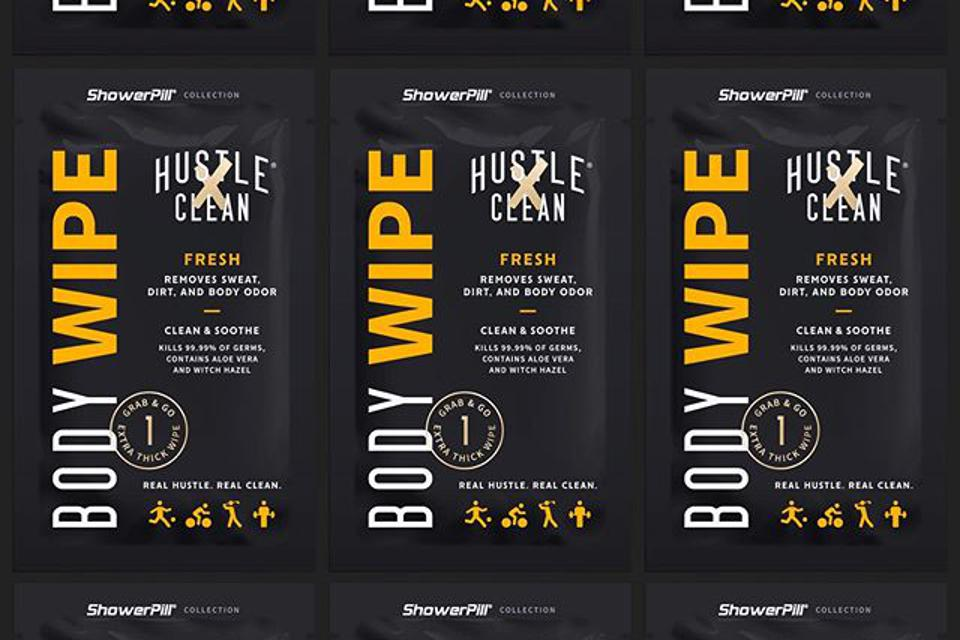 Hustle Clean product.