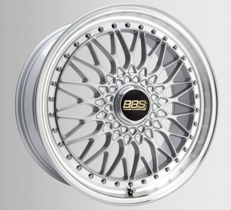 The classic alternating BBS wheel pattern had its ancestors in the 1980s.