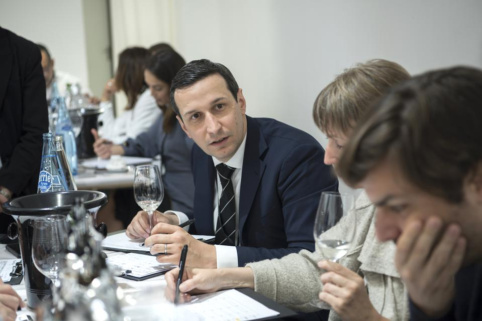 Xavier Thuizat, chief sommelier at Hôtel de Crillon in Paris, is one of the leading sommeliers fostering better understanding of Japanese sake in France.