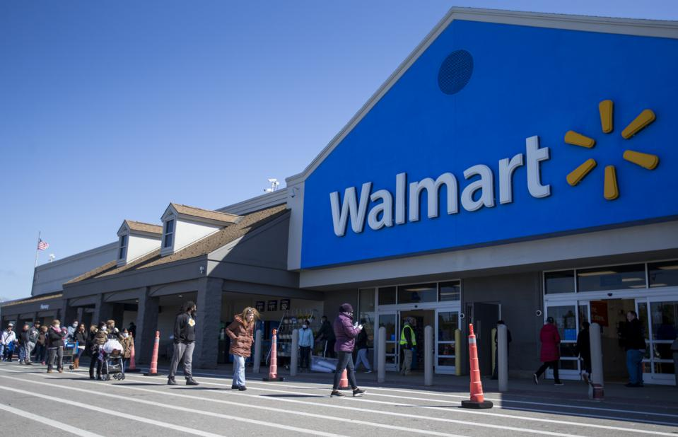 Social Distancing at Walmart
