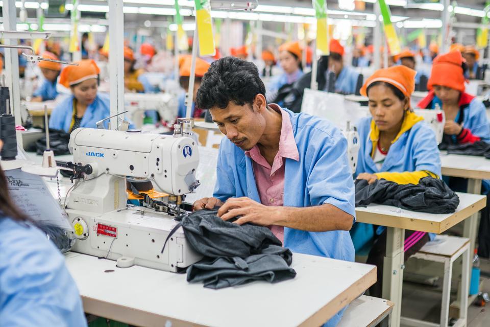 Sustainable production: H&M supplier factory Seduno, Cambodia