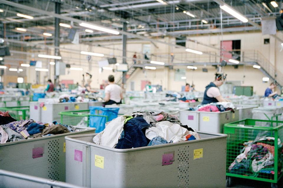 Recycling program at Arket, H&M Group