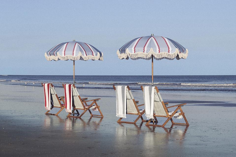 Serena & Lily beach umbrellas