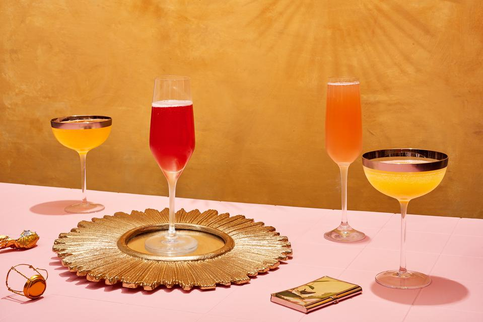 The ultimate mimosa bar from ″Basic Bitchen″