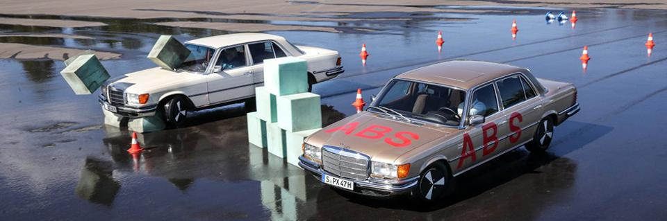 Bosch and Mercedes-Benz debuted electronic ABS in 1978