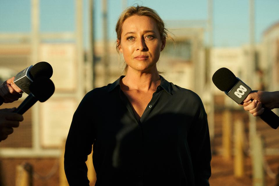 Asher Keddie plays Clare Kowitz in Netflix's Australian series 'Stateless' alongside Yvonne Strahovski, Dominic West and Cate Blanchett.