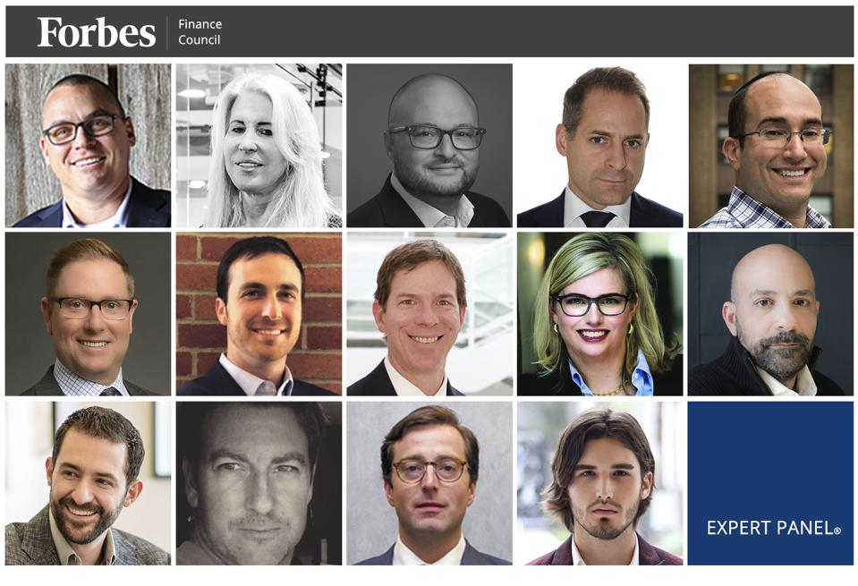 Photos of featured Forbes Finance Council members