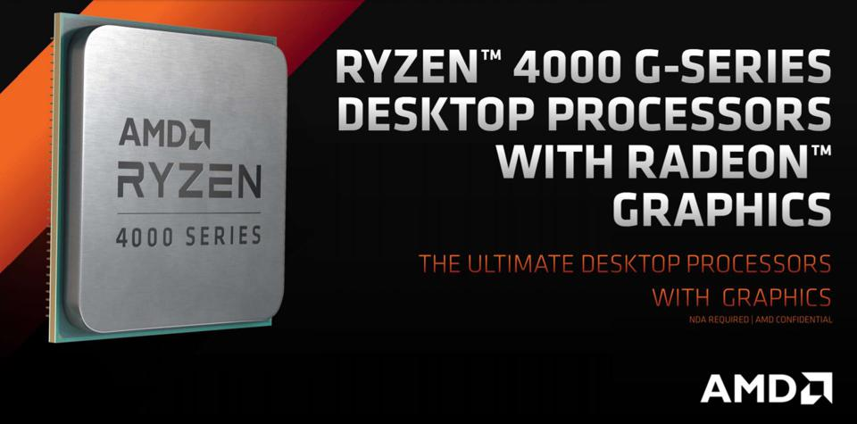 Amd Reveals Ryzen 4000 G Series Apus Great For Budget Gaming But There S A Catch