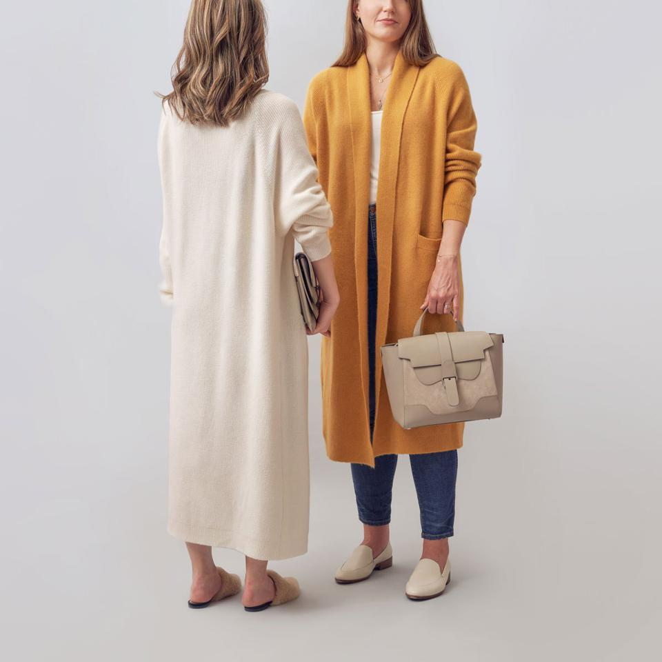 Senreve expands out of leather goods into cashmere offering in its path of becoming the next generation luxury brand