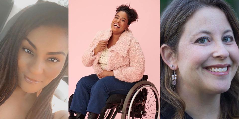 Headshot photos of Joy Johnson, Tatiana Lee and Maggie Lenart.