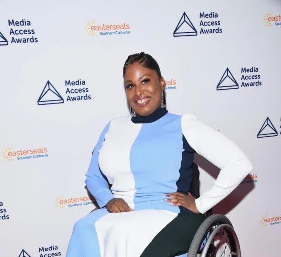 Tatiana Lee at the Media Access Awards.