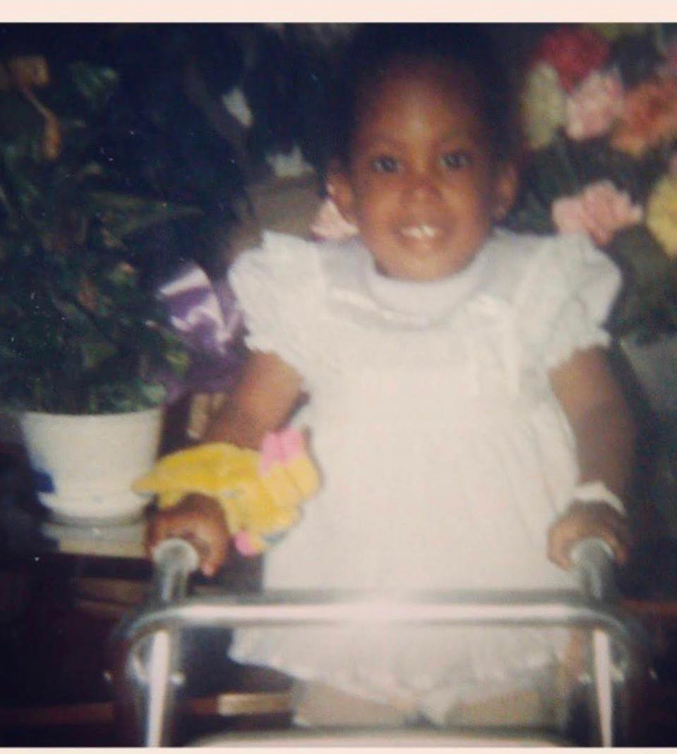 A photo of Tatiana Lee as a child.