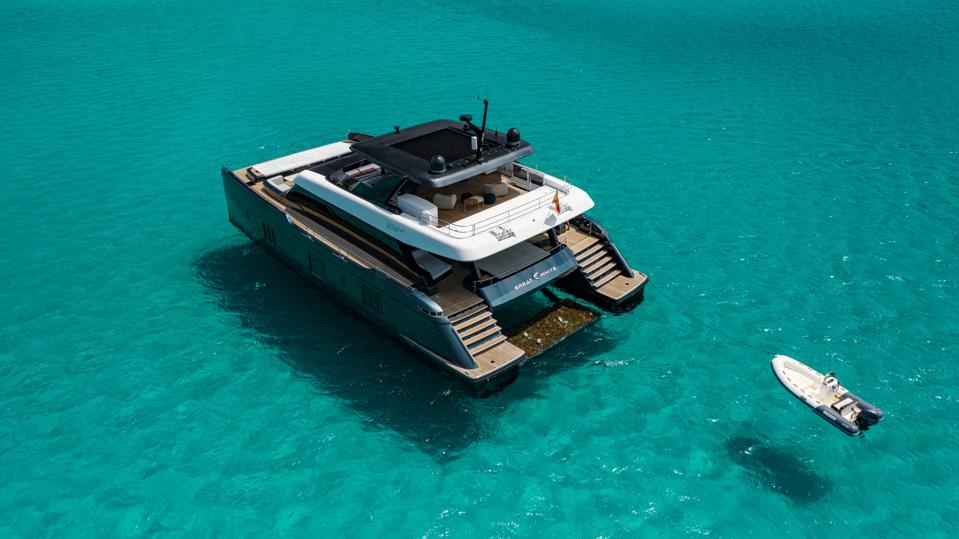 Rafael Nadal's Sunreef 80 Catamaran ″Great White″