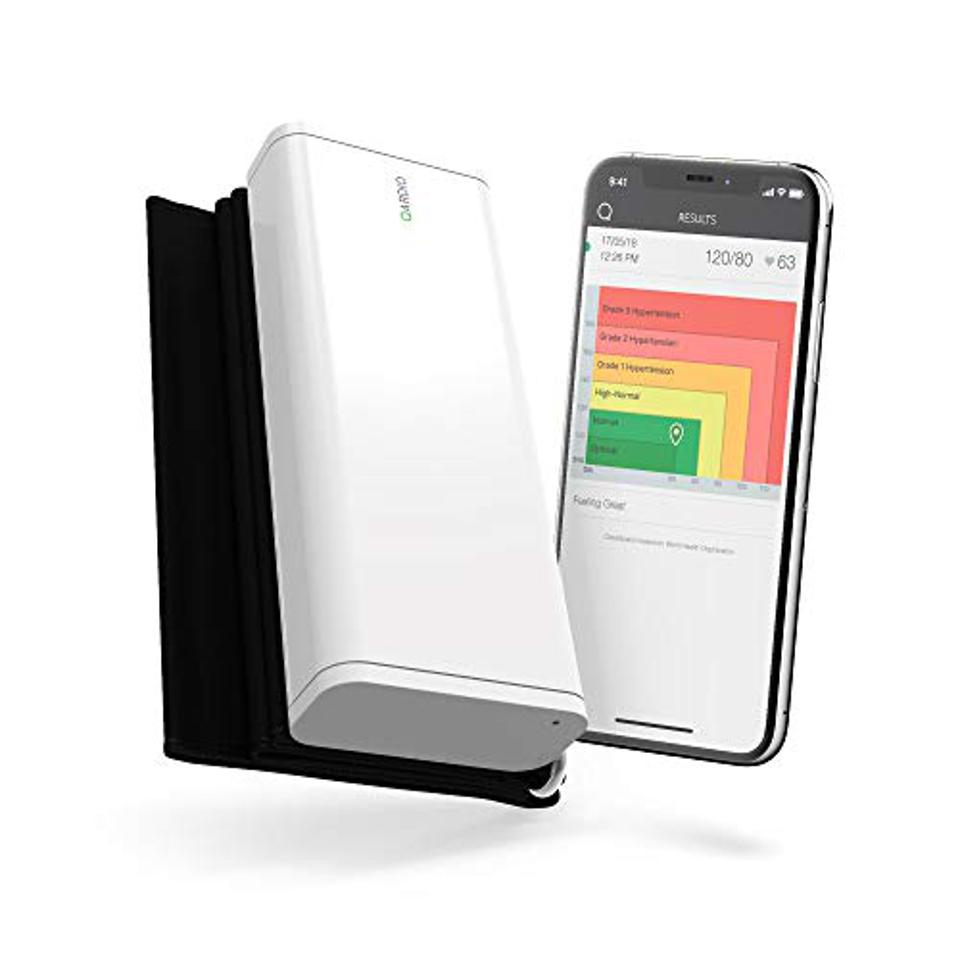 The QardioArm Wireless Blood Pressure Monitor